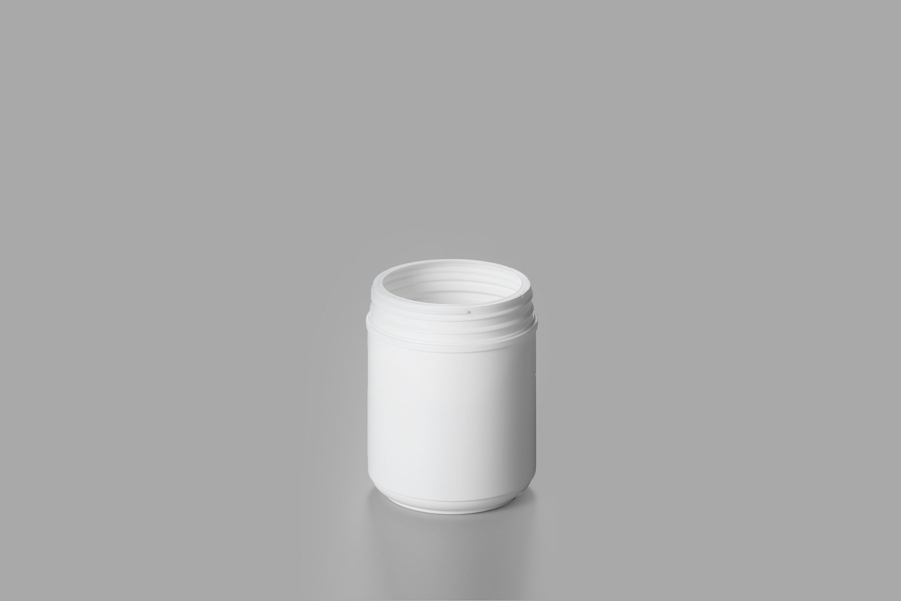 HDPE Straight Sided Canister 55oz 120-400