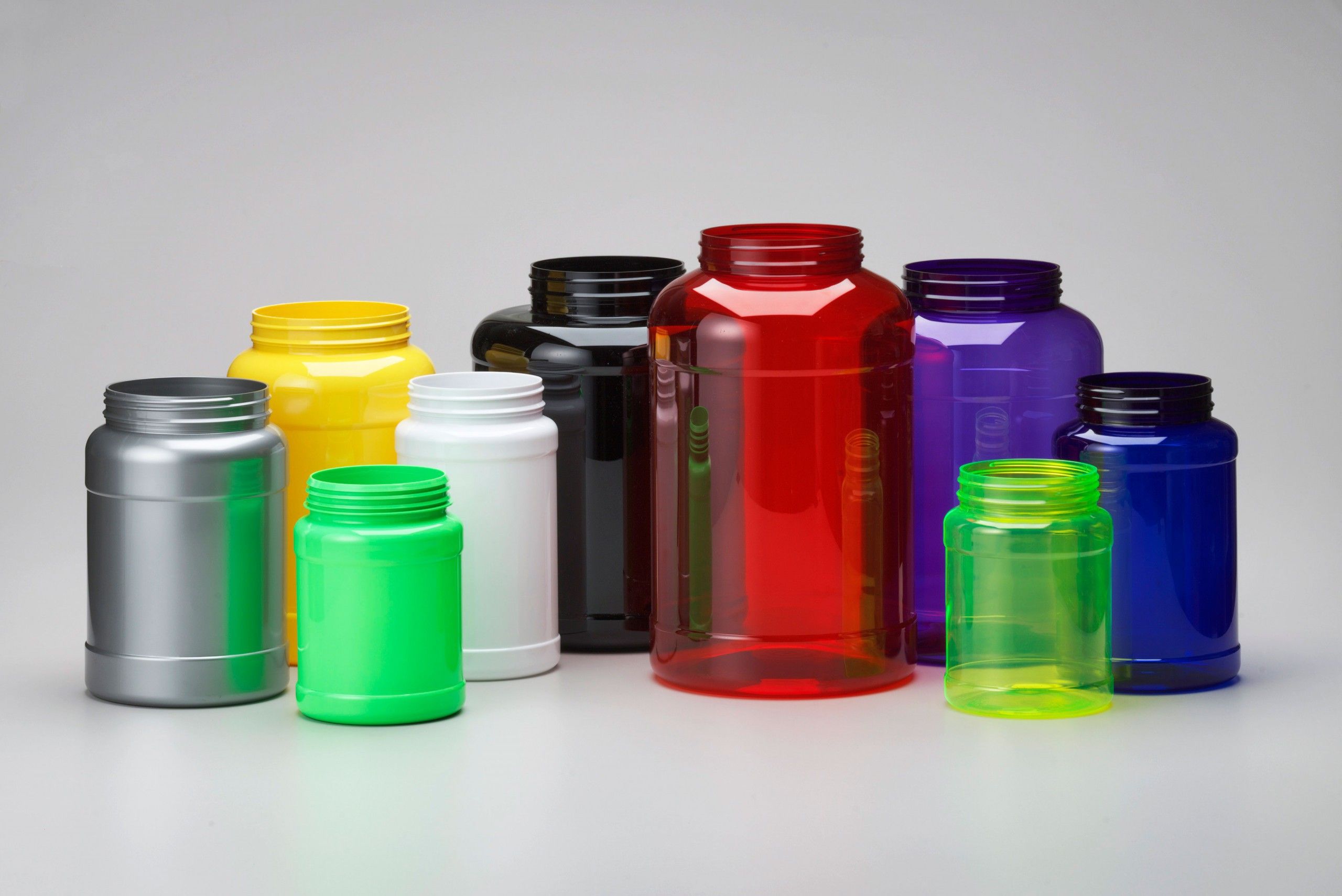 PET Large Wide Mouth Canister 8000ml