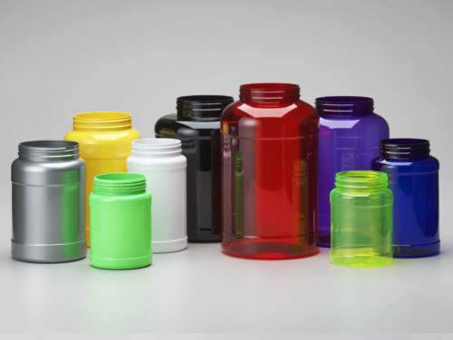 PET Large Wide Mouth Canister
