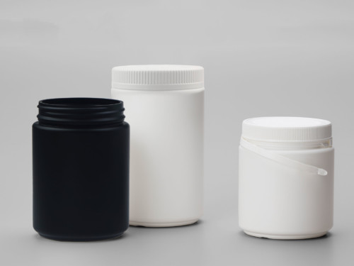 HDPE Wide Mouth Jar with Tamper Evident Neck Finish